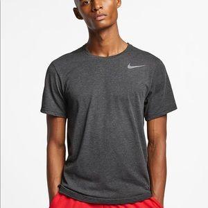 Nike Gray Dri Fit Short Sleeve